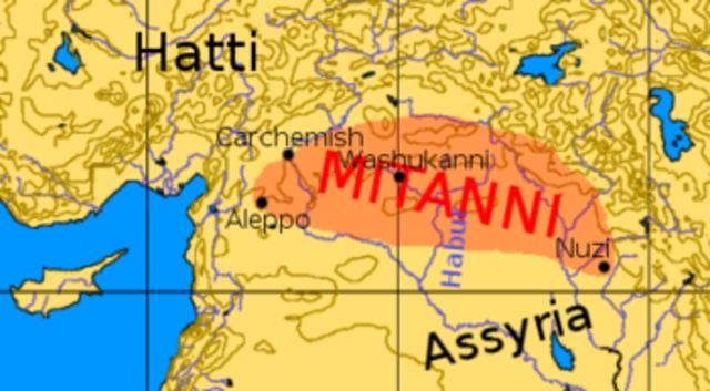 Saustatar de Mitanni: saqueo de Assur