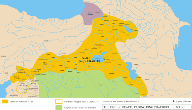 Apogeo del reino de Urartu