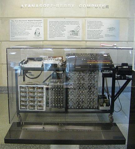 Första riktiga datorn