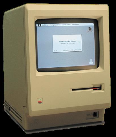 Första Apple datorn Macintosh