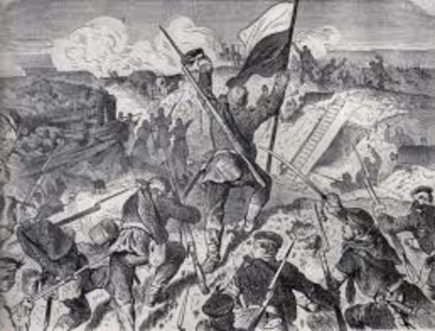 Declares War on Denmark