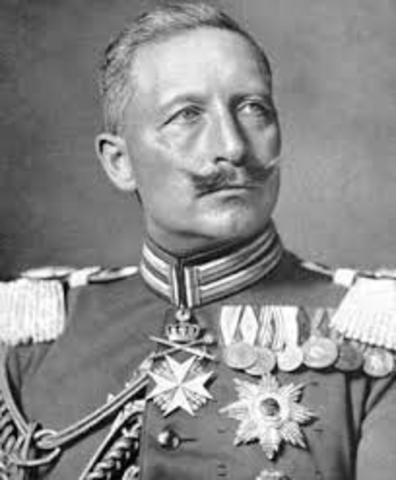 William II becomes Kaiser