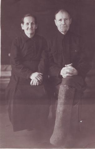 Родители Бориса Сидельникова, 1947г.