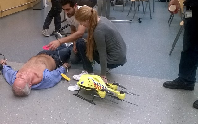 Ambulace Drone Introduced