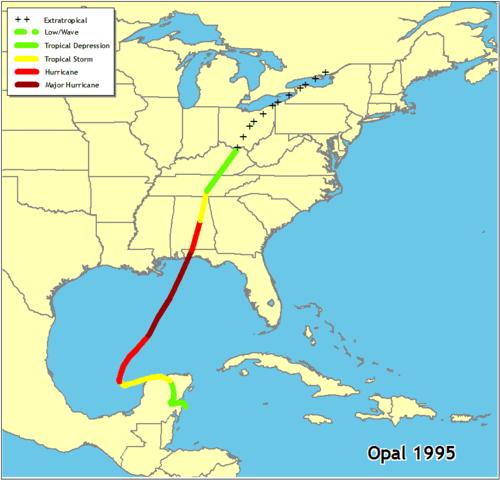 Hurricane Opal- Category 3