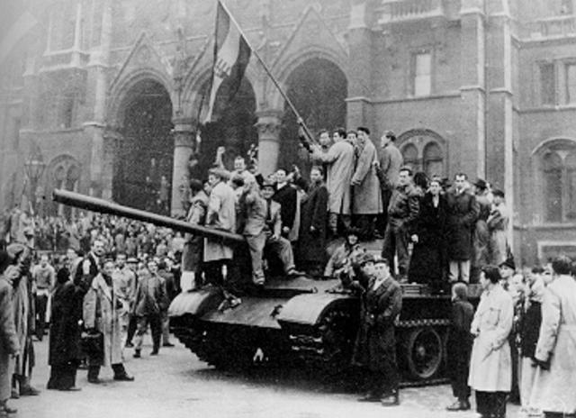 Invasión Soviética en Hungría