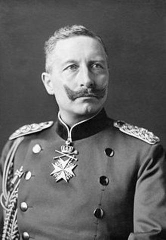 Willhelm II becomes Kaiser