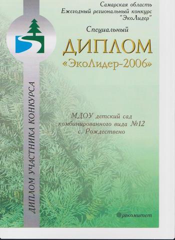 Достижения коллектива 2006г.