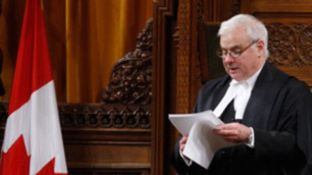 Speaker's ruling