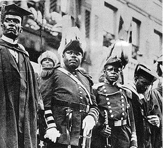 Marcus Garvey begins Back to Africa movement