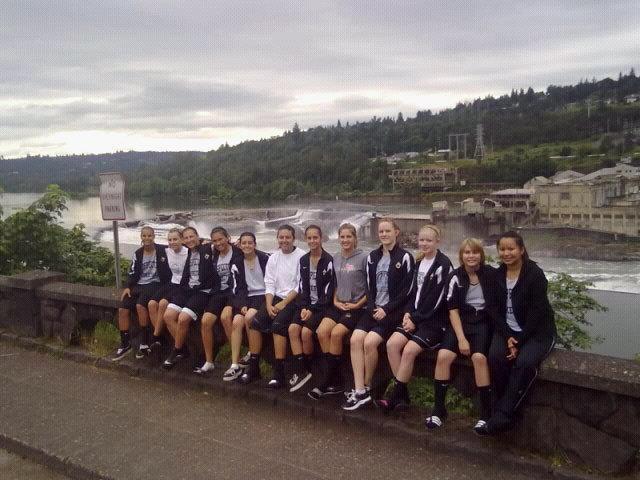 Basketball Oregon Trip