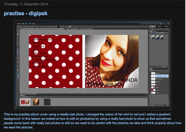 Practise editing on Photoshop