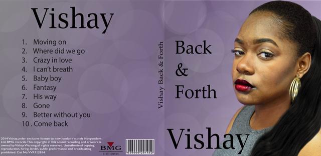 Final edit of album cover