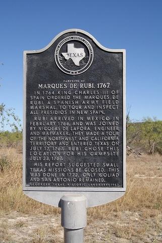 Marques de Rubi inspects Texas