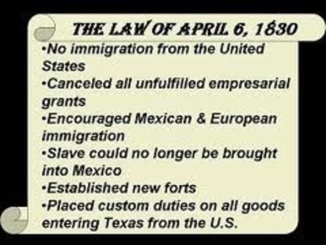 Law of April 6 Passes