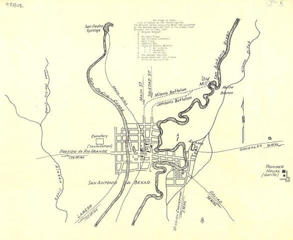 San Antonio de Bexar Siege