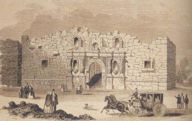 The Alamo Falls