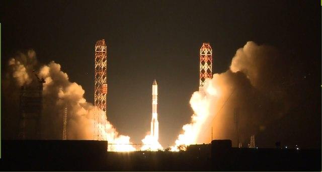 """Телекоммуникационный спутник """"Астра-2Ж"""" успешно выведен на заданную орбиту"""