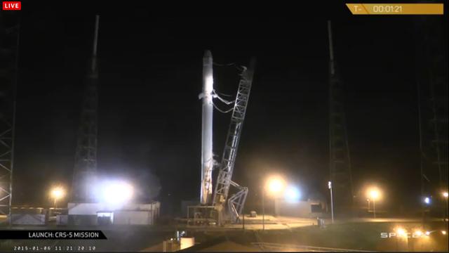 """Пуск ракеты-носителя """"Falcon-9"""" отложен как минимум до 9 января"""