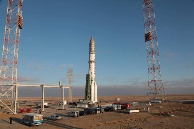 """На 30 января запланирован первый в 2015 году пуск ракеты-носителя """"Протон-М"""""""