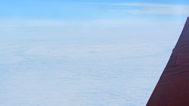 В Антарктиде обнаружен кратер, оставленный метеоритом более 10 лет назад