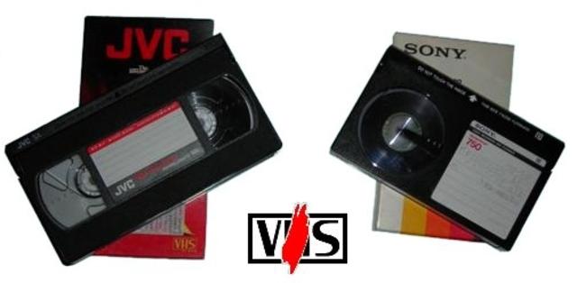 VHS y BETAMAX