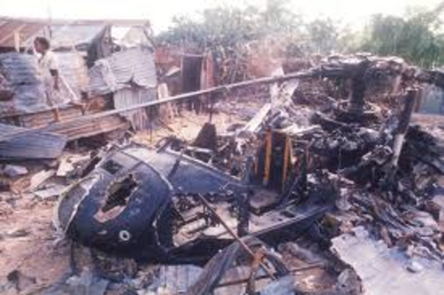In a battle for the streets of Mogadishu, Somalia, a unit of U.S. special operations forces gets pinned down after two U.S. helicopters are shot out of the sky.