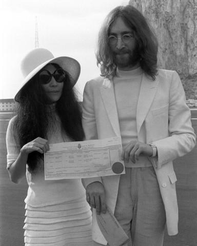 Here comes Yoko