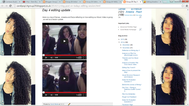 Production: Vlog
