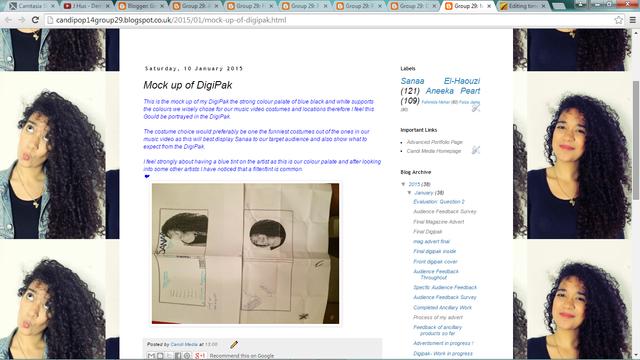 Planning Ancillary: Blogger