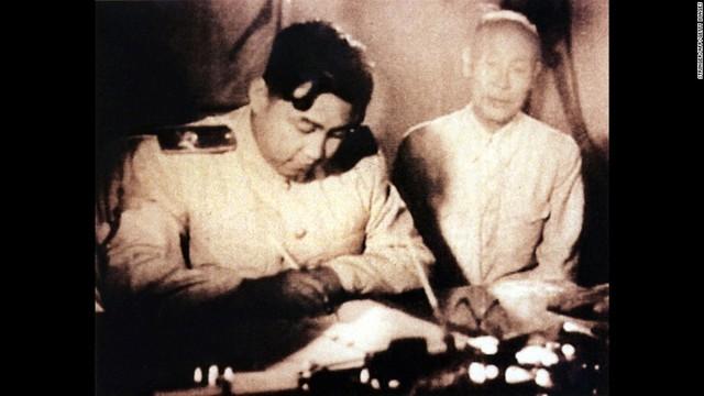 Peace Treaty Signed