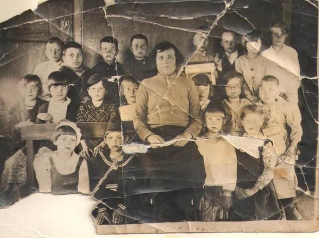 Обучение в  Горской семилетней школе