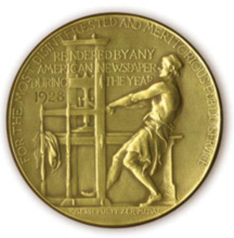 1921 First woman to win Pulitzer Prize