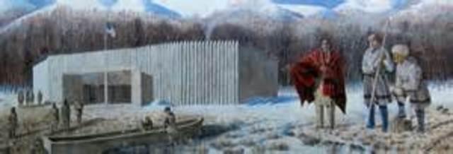 Winter spent at Fort Mandan