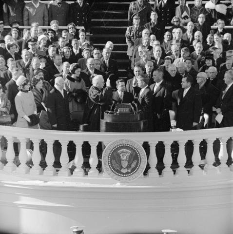 John F, Kennedy enters Presidency