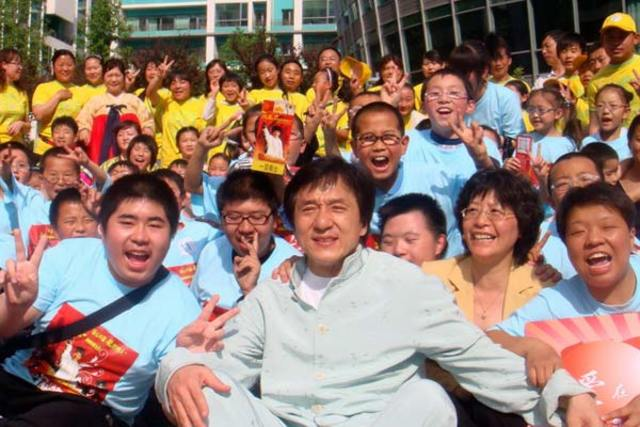 jackie chan charlitable foundation is founded