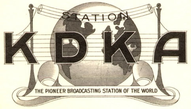 8XK, First Radio Station