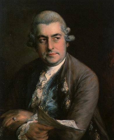 JC Bach born
