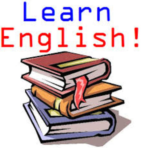 i started english class