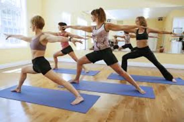 i began yoga lessons