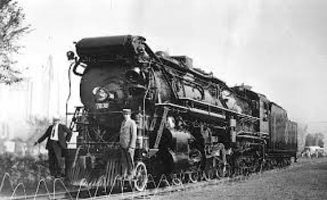 """Lima Locomotive Works beginning of """"Super Power"""" steam"""