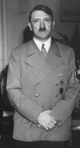 Hitler helps organize the Nazi Party