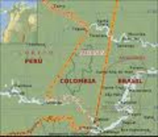 FRONTERA CON COLOMBIA Y EL TRATADO SALOMON LOZANO
