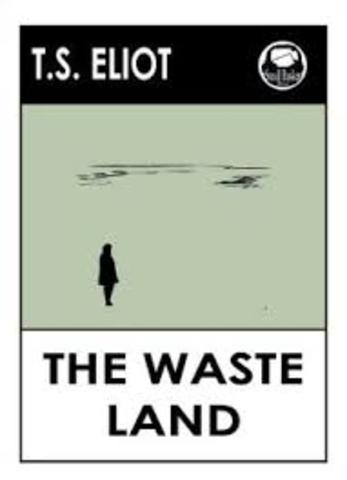 """T.S. writes """"The Waste Land"""""""