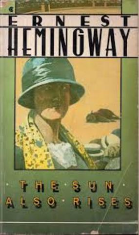 """Ernest Hemmingway publishes """"The Sun Also Rises"""""""