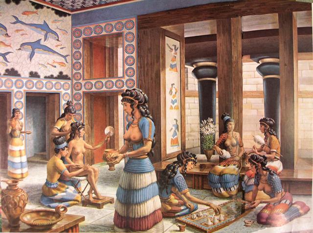 1st Palace at Knossos 2000-1700 BCE