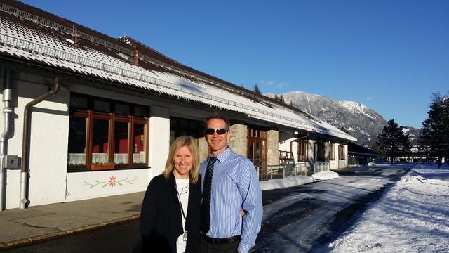 Visit to Garmisch Elementary/Middle School