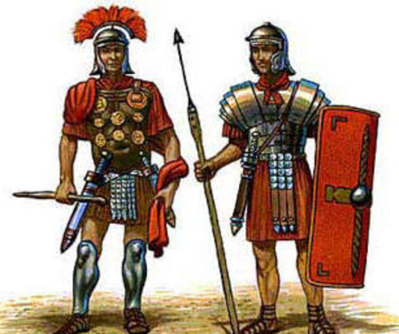 218AC: Tropas Romanas ingresan al noreste de España