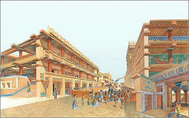 2nd Palace at Knossos 1700-1450 BCE