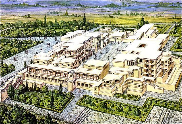 3rd Palace at Knossos 1450-1200 BCE